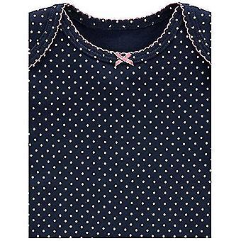 Einfache Freuden von Carter's Baby Girls' 5-Pack Long-Sleeve Body, rosa/Navy/Mint, 3-6 Monate