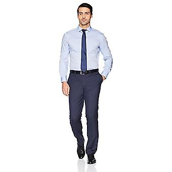 BUTTONED DOWN Men's Tailored Fit Spread-Collar Solid Non-Iron Dress Shirt (No...