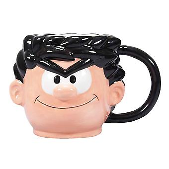 Beano 3D Shaped Mug Dennis new Official Boxed