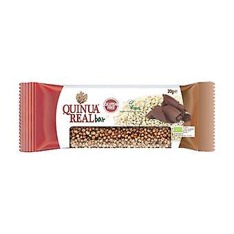 Gluten-free bio real quinoa and cocoa bar 1 bar of 20g