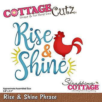 Scrapping Cottage Rise & Shine Phrase