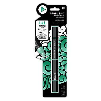 Spectrum Noir Triblend Marker Jade Green Blend