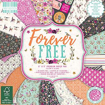 Première édition Forever Free 6x6 Inch Paper Pad