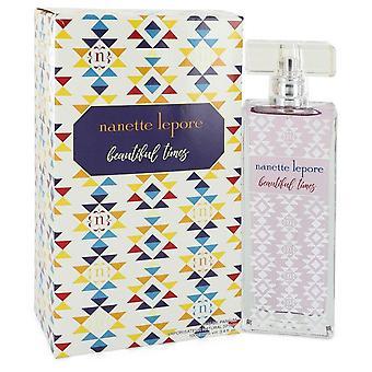 Beautiful times eau de parfum spray by nanette lepore 547758 100 ml