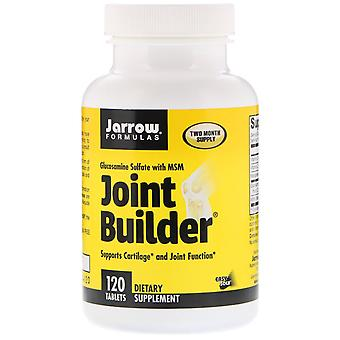 Jarrow Formulas, Joint Builder, Glucosamine Sulfate with MSM, 120 Tablets
