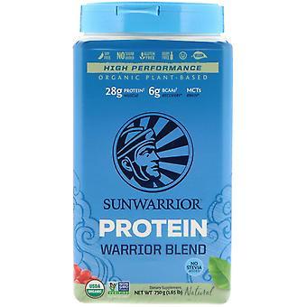 Sunwarrior, Warrior Blend Protein, Organic Plant-Based, Natural, 1.65 lb (750 g) Sunwarrior, Warrior Blend Protein, Organic Plant-Based, Natural, 1.65 lb (750 g) Sunwarrior, Warrior Blend Protein, Organic Plant-Based, Natural, 1.65 lb (750 g) Sunwar