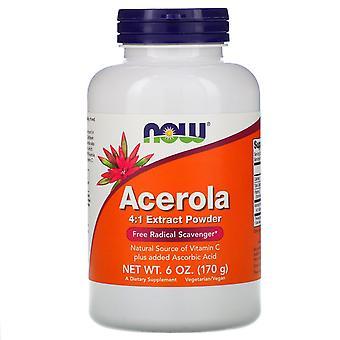 Now Foods, Acerola 4:1 Extract Powder, 6 oz (170 g)