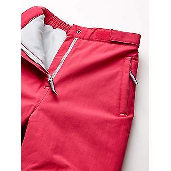 Essentials Girls' Big Water-Resistant Snow Pant, Raspberry Pink, XX-La...