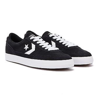 Converse Net Star Classic Suede Mens Black / White Ox Trainers