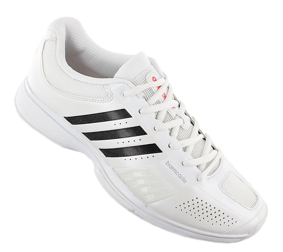 adidas adiPower Barricade W Grass - Damen Tennisschuhe Weiß V20810 Sneakers Sportschuhe