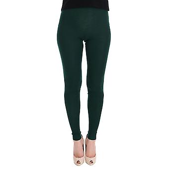 Green cashmere stretch t68766039