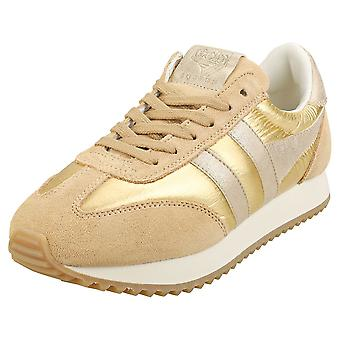 Gola Boston 78 Metallic Naisten Muoti Trainers Gold