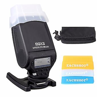 Mk-320 Mk320 Ttl Flash Speedlite Gn32 For Sony A7 Iii A7m3 A7m2 A7iii A9 A7 A7