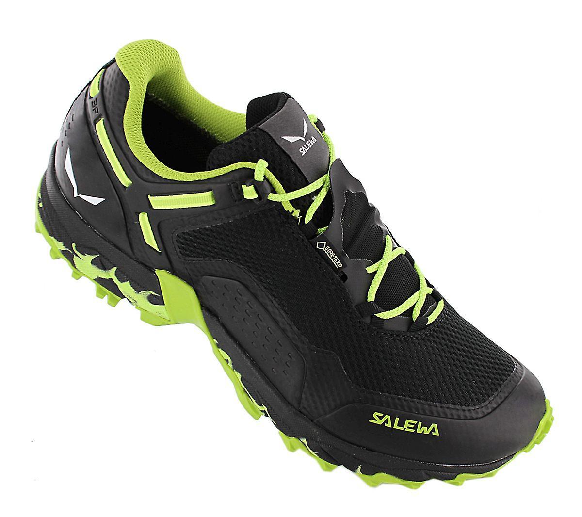Salewa MS Speed Beat GTX - Gore Tex - Herren Wanderschuhe Schwarz 61338-0978 Sneakers Sportschuhe