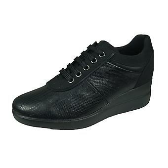 Geox D Stardust A Womens Trainers / Shoes - Black