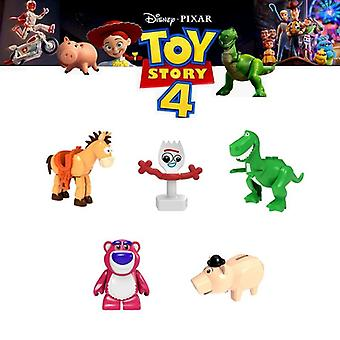 Toy Story 4, Forky Siffror Gremlins Gizmo Stitch Mario Alien E.t. Med Elliot