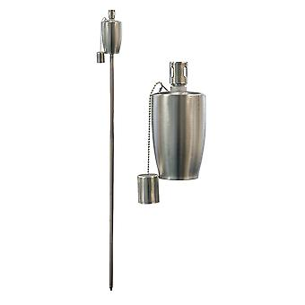 Trädgård Fire Torch - Olja / Paraffin Lantern - 1460mm Fat Design