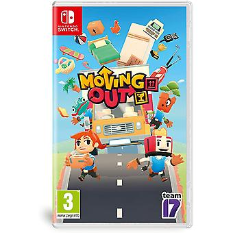 Moving Out Nintendo Switch Game (German Box - All Languages In Game)