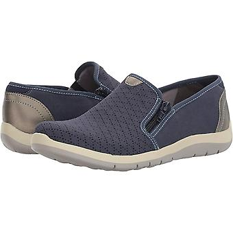 Aravon النساء ABJ02BL النسيج مغلقة أحذية قارب توم