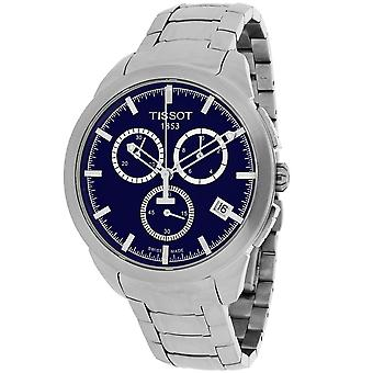 Tissot Men's Titanium Blue Dial Watch - T0694174404100