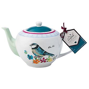 English Tableware Company Garden Birds Teapot DD1912A02