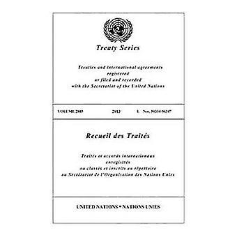 Treaty Series 2885 (Bilingual Edition) (United Nations Treaty Series / Recueil des Traites des Nations Unies)