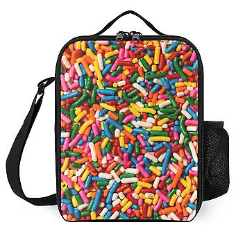 Candy Sprinkles Printed Lunch Bags