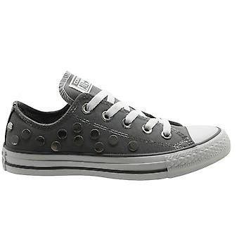Converse CT AS Ox Low Top Unisex Mens Womens Light Grey Trainers 547297C B19D