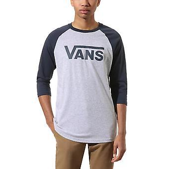 Vans Classic Raglan Long Sleeve T-Shirt - Grey