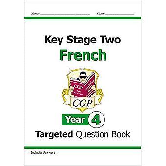 Nya KS2 franska riktade frågebok - år 4
