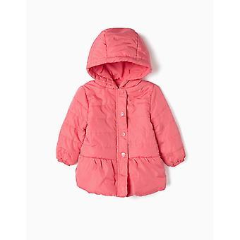 Zippy Padded Jacket Pink