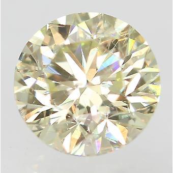 Sertifioitu 0,33 karat I VVS1 pyöreä loistava parannettu luonnollinen löysä timantti 4,29m