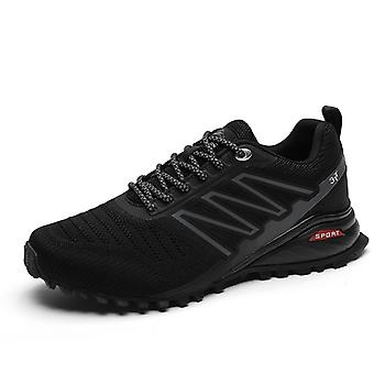 Hombres Mujeres Trail Running Zapatos K698 Negro