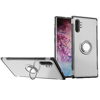 Schutzhülle mit Ständer für Samsung Galaxy S10 5G - Silber