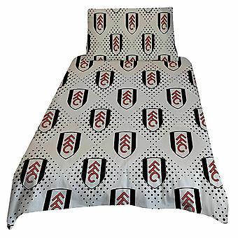 Fulham FC Diamond Duvet Cover Set