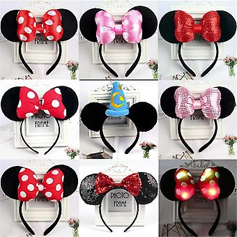 Mickey Minnie Mouse Ears Headbands