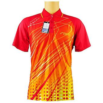 Genuine Table Tennis Clothes Women T-shirt Short Sleeved Ping Pong Jersey