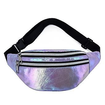 Fanny Pack Hologramm Taille Tasche