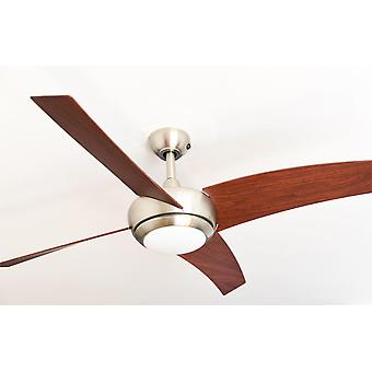 Ceiling Fan Borealis Walnut with LED and Remote Control