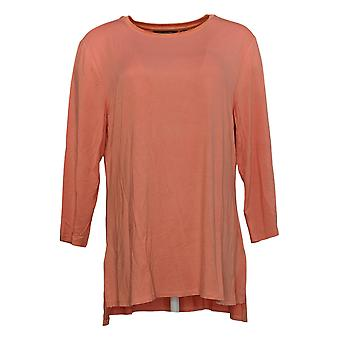 H Par Halston Women's Top Special Edition Flocked Dot Tulle Jupe Rose A367972
