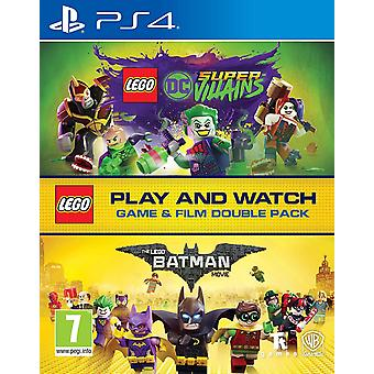 Lego DC Super-Roistot Peli ja elokuva Double Pack PS4