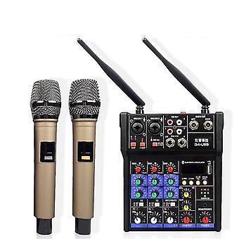 Professional Dj Audio Mikser Dźwięku Mikser Dźwięku Miksowanie urządzenia z mikrofonem
