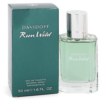 Davidoff Run Wild Eau De Toilette Spray By Davidoff 1.6 oz Eau De Toilette Spray