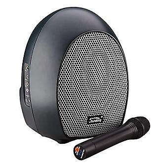 Xpix portable pa system with wireless microphone for presentations, speeches and entertainment