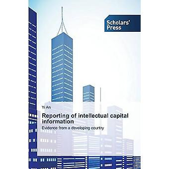 Reporting of Intellectual Capital Information by An Yi - 978363976887