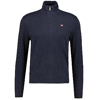 Napapijri DECATUR FZ Blu Marine Fleece Sweater