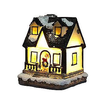 Christmas Decoration Resin Small House