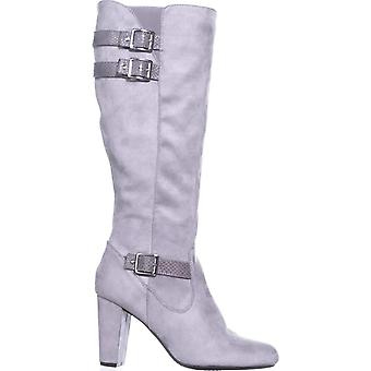 Rialto Womens collins Pointed Toe Knee High Fashion Boots