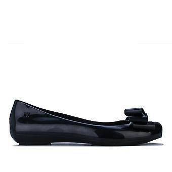 Women's Zaxy Pop Glamour Bow Shoes in Black