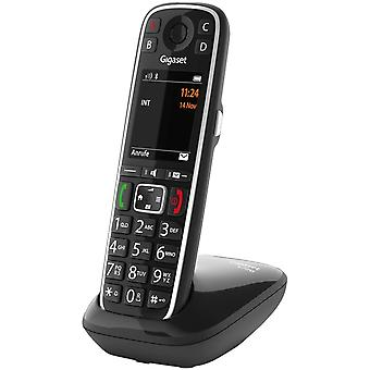 HanFei E720 - Schnurloses Premium Seniorentelefon - sprechende Whltasten - Nummernansage &